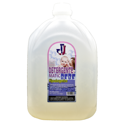 Detergente Líquido JJ Bebé 5 litros