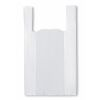 Bolsa Camiseta Blanca 28x35 cm, 100 un