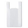 Bolsa Camiseta Blanca 40x50 cm, 100 un