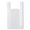 Bolsa Camiseta Blanca 45x55 cm, 100 un