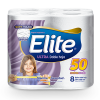 Papel Higiénico Elite Ultra Doble Hoja 50m 8 rollos