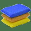 Esponja Espuma Suave Colores Pack 3 un