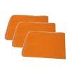 Paño Naranja Franela Pack 3x
