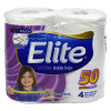 Papel Higiénico Elite Ultra Doble Hoja 50m 4un