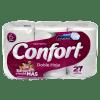Papel Higienico Confort Doble Hoja 27m 6 rollos