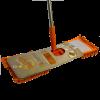 Mopa plana Microfibra Soplao Naranja Chenille