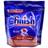 Detergente Lavavajillas Finish en Tabletas All in 1 Max 13 unidades