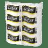 Toalla Ecofort Prepicada Pack 4x Rollos de 80 metros