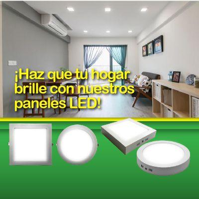 Haz que tu hogar brille con nuestros paneles led
