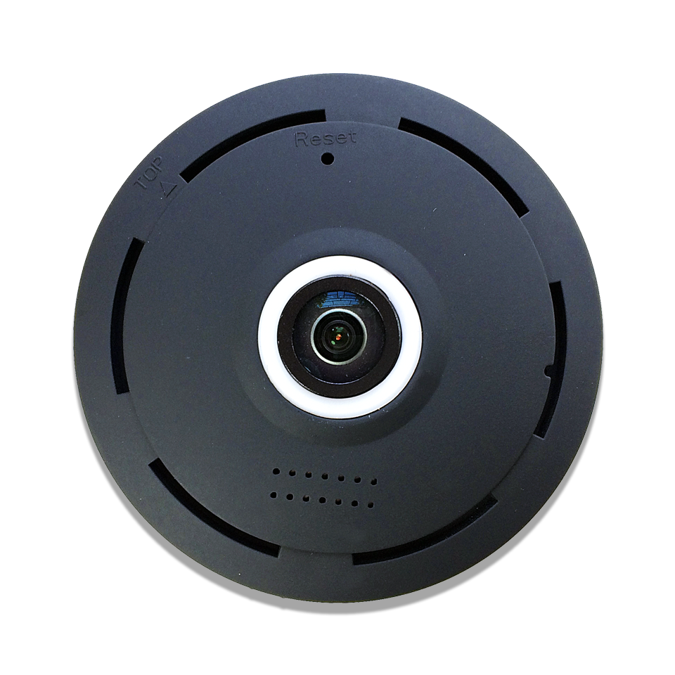 CAMARA IP 360° INTERIOR NEGRA