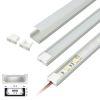 (*) Perfil Aluminio Difusor TH-1102 3mt Rect. Plano