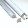 (*) Perfil Aluminio Difusor TH-1002 1mt  Esqu. Simple
