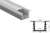 Perfil Aluminio Difusor TH-1105 3mt Cuadrado Empotrable