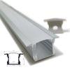 """(*) Perfil Aluminio Difusor TH-1201 2mt """"Alto Empotrable"""""""
