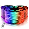 (hy34023) Cinta Simple 1mt 5050 RGB IP54 DC110-220V