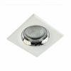 (hy34316) Soporte GU10 Sobrepuesto Redondo Aluminio IP20