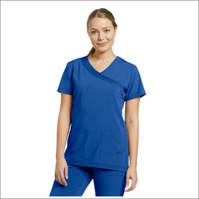 POLERA CLINICA WHITHECROSS FIT AZUL REY