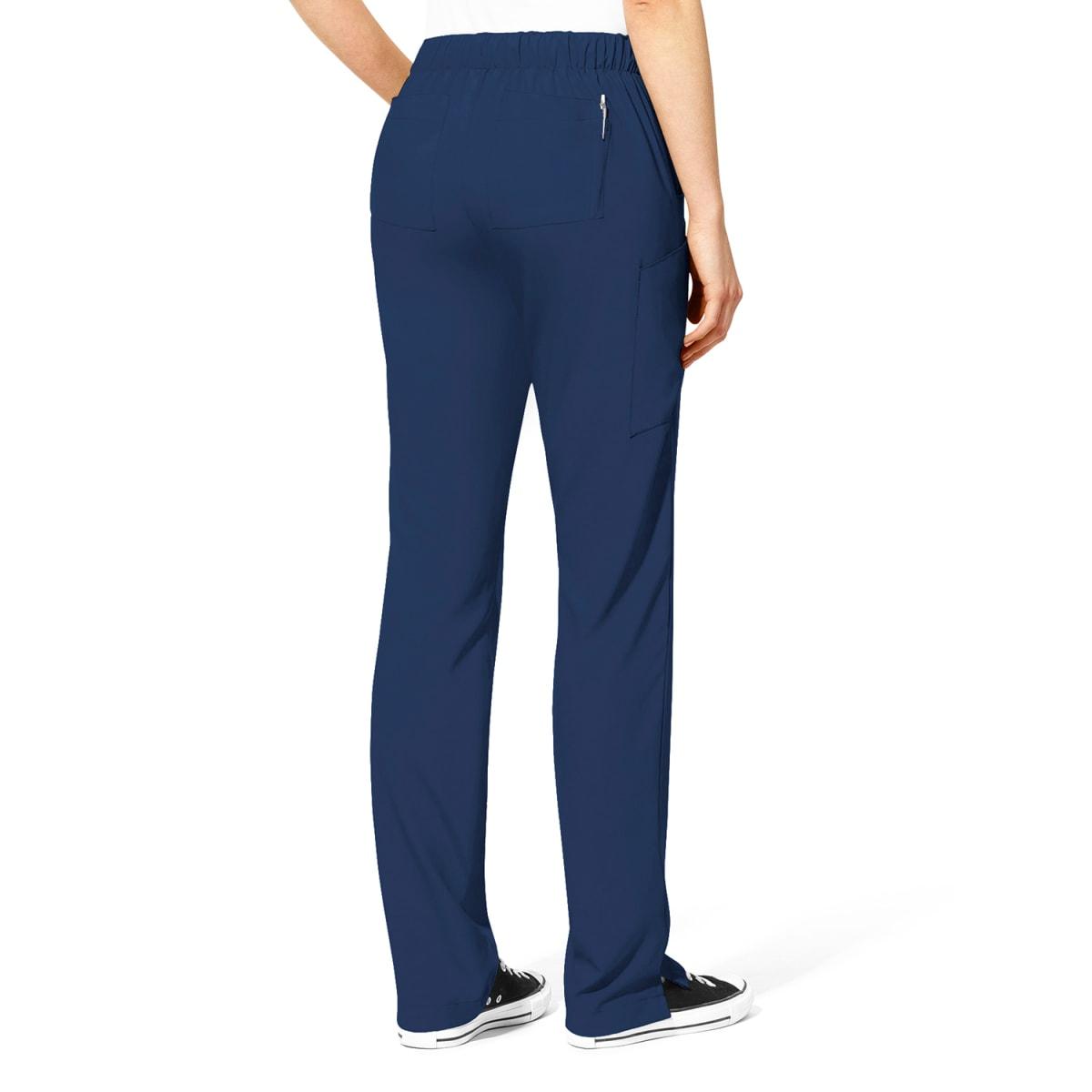 Pantalon Clinico Enfermera Azul Marino W123 5155a Shopsale Uniformes
