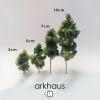 Árbol espuma verde oscuro ARKHAUS