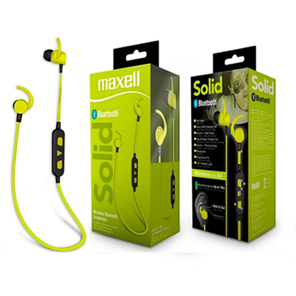 Audifonos Bluetooth Maxell Solid Lime