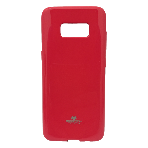 CASE GALAXY S8 JELLY PEARL HOTPINK