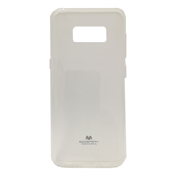 CASE GALAXY S8 JELLY PEARL CLEAR