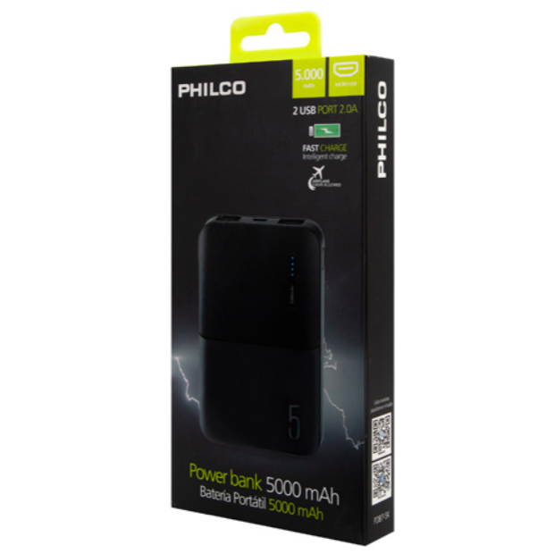 Power Bank Philco 5000MAH