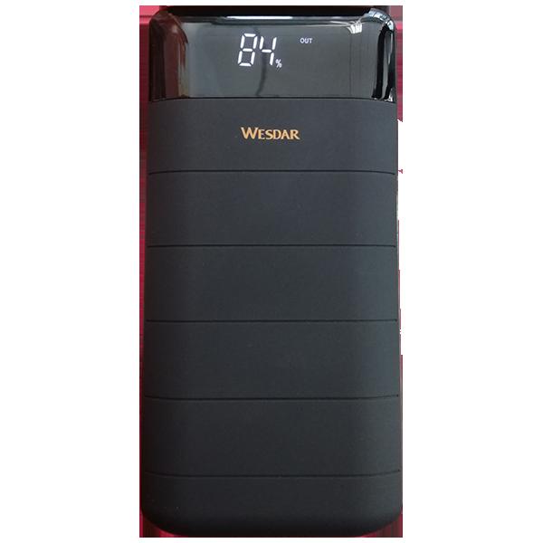 POWERBANK WESDAR 20000mAh S32 Negro