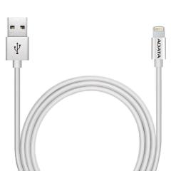 Cable Cargador Lightning Adata Blanco Certificado