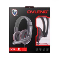 AUDIFONOS GAMER OVLENG X5 Q5 Bass gaming- Negro