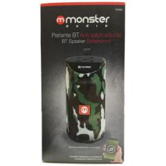 Parlante Bluetooth Monster Camuflaje
