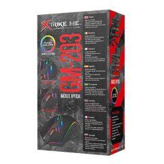 Mouse Gamer GM-203 XtrikeMe