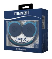 Audifonos Bluetooth Maxell Smilo Azul