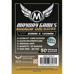 Fundas para cartas de Dixit Mayday Magnum Ultra fit 80x120 mm pack 50 125% thicker