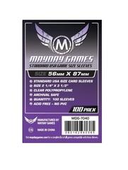 Fundas para cartas Mayday Sleeves Standard USA 56x87 Mm Pack 100