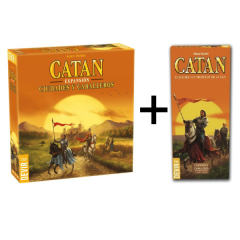 Pack Catan Ciudades y Caballeros (juego base + ampliación)