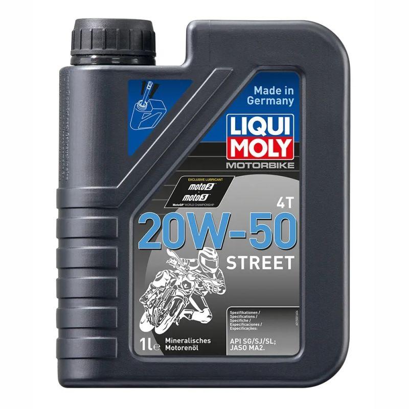 LIQUI MOLY MOTORBIKE 4T 20W-50 CIUDAD