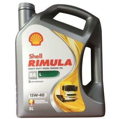 SHELL RIMULA R-4 L 15W-40