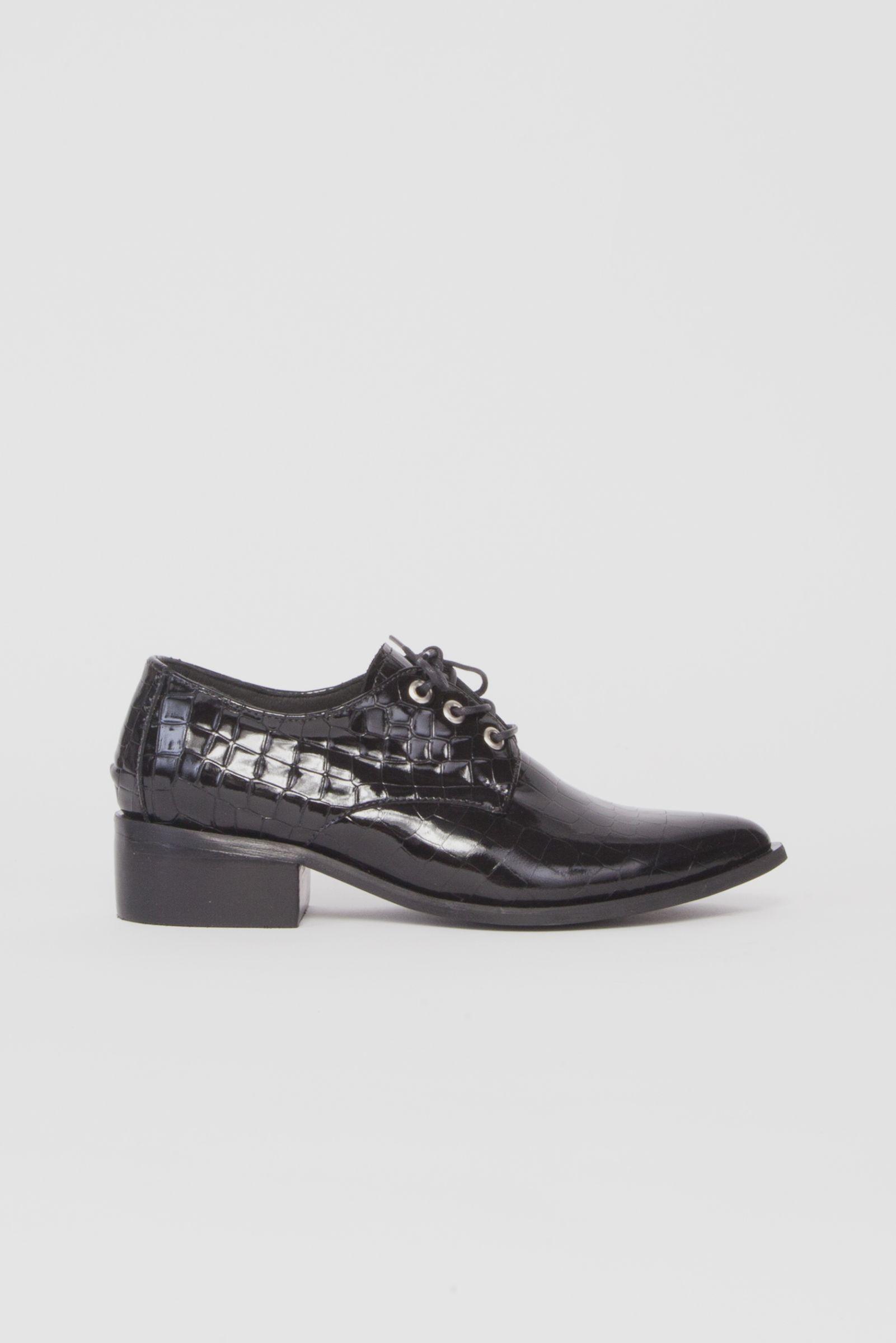 Zapato Charlie Negro Crocco