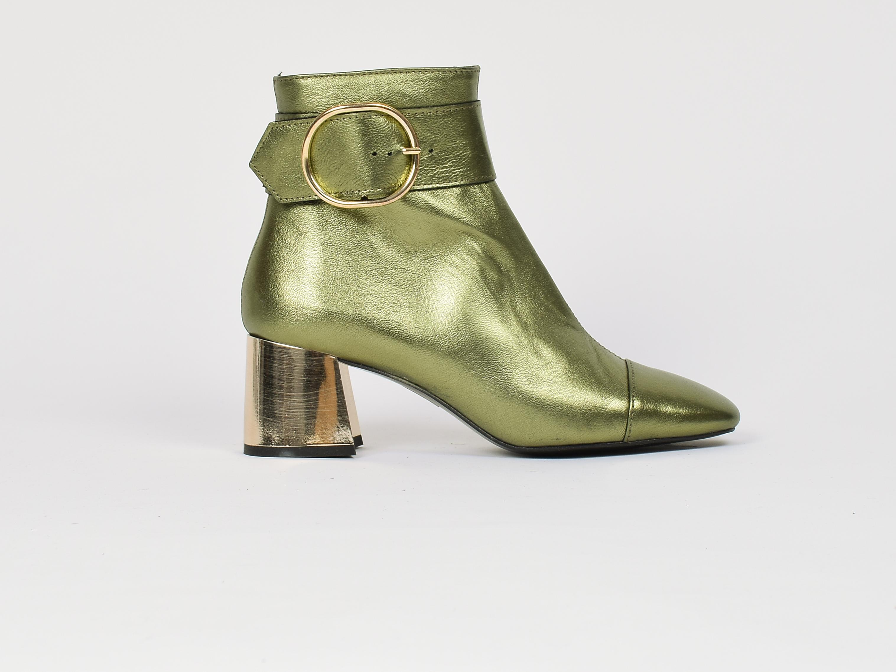 Zapato Venus Metal Green