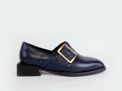 Zapato Sauria Azul