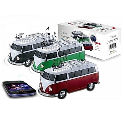 PARLANTE PORTABLE MLAB KOMBI  BLUETOOTH GREEN