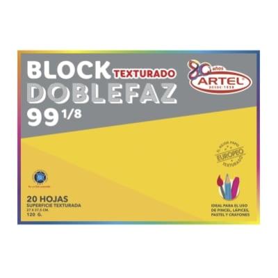 BLOCK DE DIBUJO ARTEL MEDIUM 99 1/8 20 HOJAS1