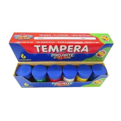 TEMPERA SET PROARTE 6 COLORES1