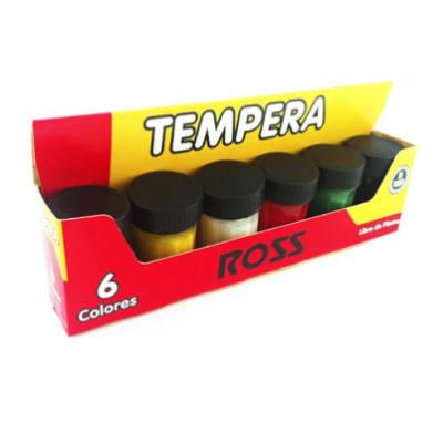 TEMPERA SET ROSS 6 COLORES1