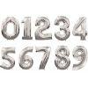 globos numeros metalizados