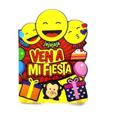 6 Tarjetas Invitacion Mariposa Y Flores Cumpleaños J