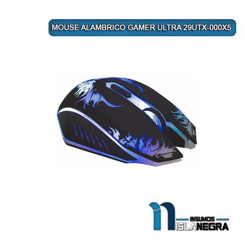MOUSE ALAMBRICO GAMER ULTRA 29UTX-000X5