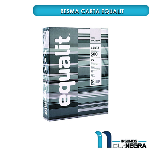 RESMA DE PAPEL CARTA EQUALIT