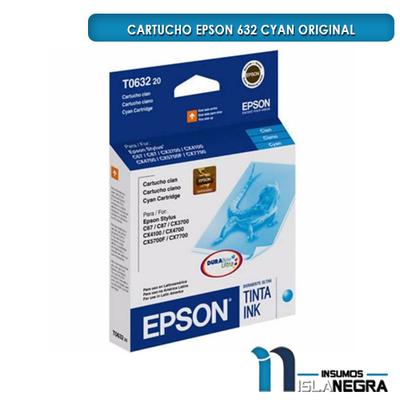 CARTUCHO EPSON 632 CYAN ORIGINAL